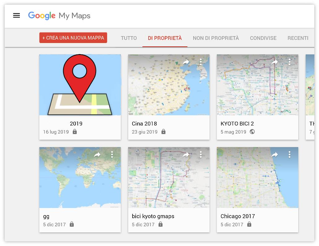 Google My Maps, un ottimo strumento per viaggiare