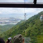 Ngong Ping 360 Crystal cabin