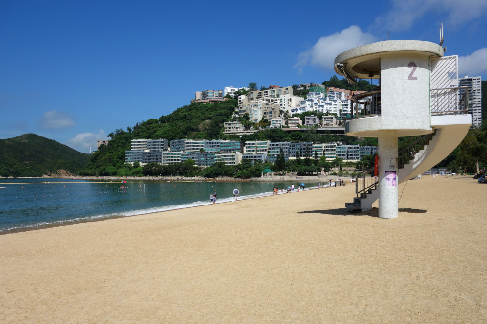 Hong Kong da soli: Repulse Bay, Deep Water Bay, Stanley Village in Agosto