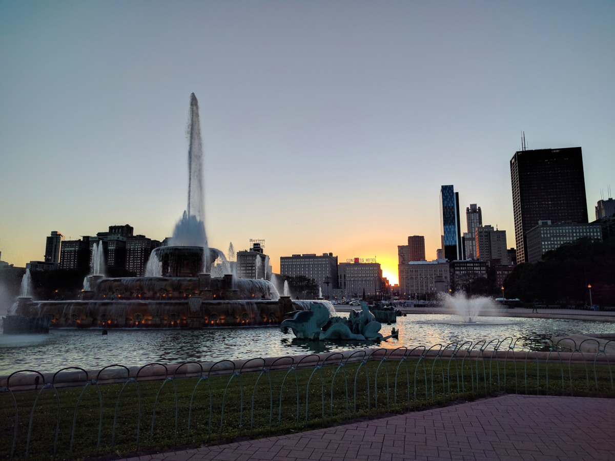 Viaggiare da soli momenti magici: Chicago Buckingham Fountain