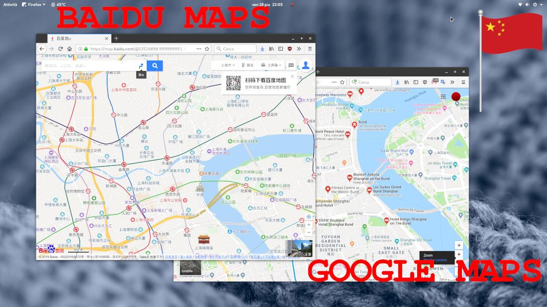 Viaggio in Cina: come utilizzare Baidu Maps per mappe e itinerari