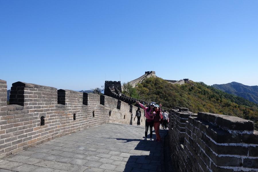 Viaggiare da soli: Cina odissea Mutianyu Golden Week