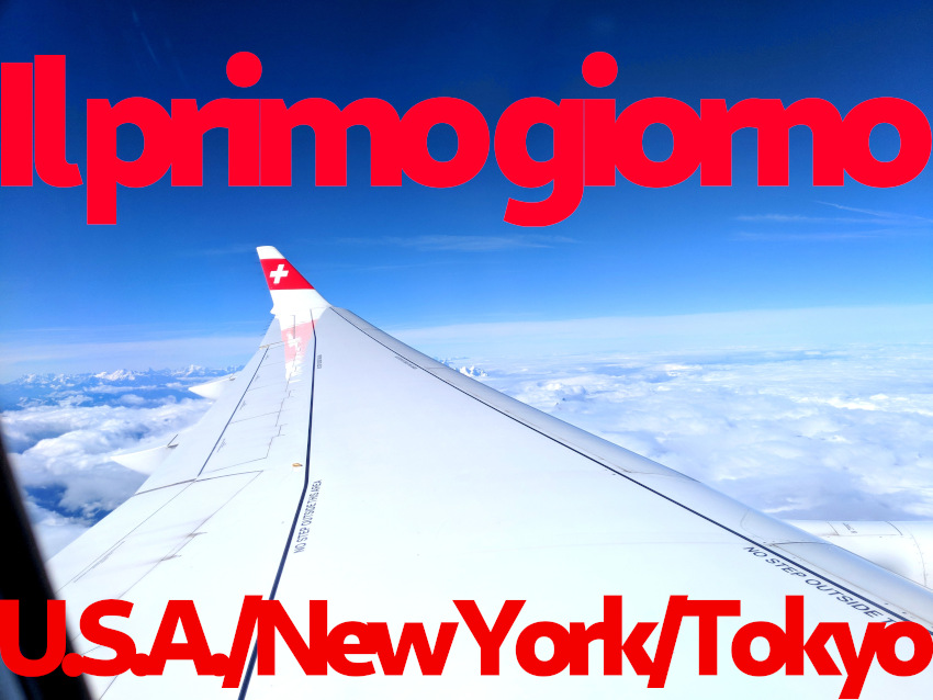 Il primo giorno: U.S.A., New York e Tokyo